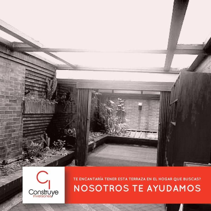 Conoce espectacular apartamento de 196 m2 wn CHICÓ con esta increíble terraza para tus reuniones con amigos o familiares. Contáctanos!