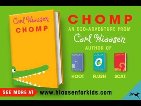 Chomp by Carl Hiaasen | Book Trailer and other Random House book trailers