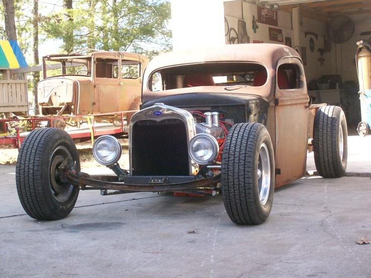 40 ford truck ricky bobby 39 s rod shop hot cars rat. Black Bedroom Furniture Sets. Home Design Ideas