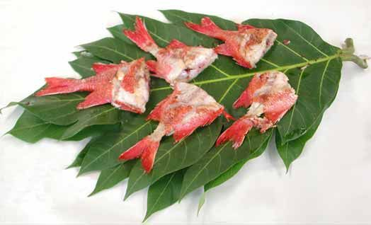 Breadfruit leaf platter
