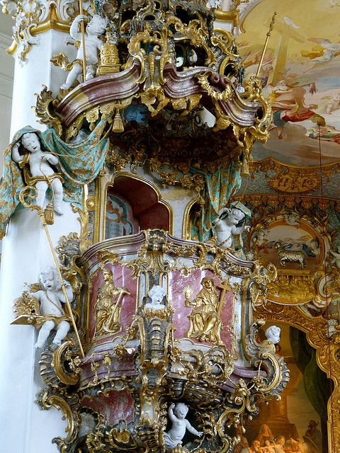 17 best images about baroque and rococo 18th century on for Architecture rococo
