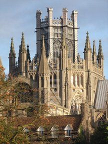 Ely Cathedral, The Octagon Tower With Au.