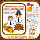 This 40-page pack includes multiple math, language, and literacy activities featuring an original Thanksgiving poem! This is an excellent resource ...