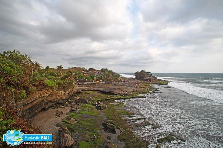 the famous Tanah Lot Temple - Bali