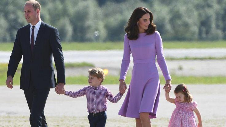 Nachwuchs im britischen Königshaus: Prinz William und seine Ehefrau Kate erwarten ihr drittes Kind. Das teilte der Kensington-Palast heute mit.   Bildquelle: AFP