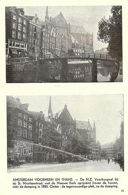 Amsterdam, then & then by juffrouwjo, via Flickr