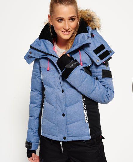 Manteaux et vestes Doudounes Femmes - Superdry  Doudoune de ski