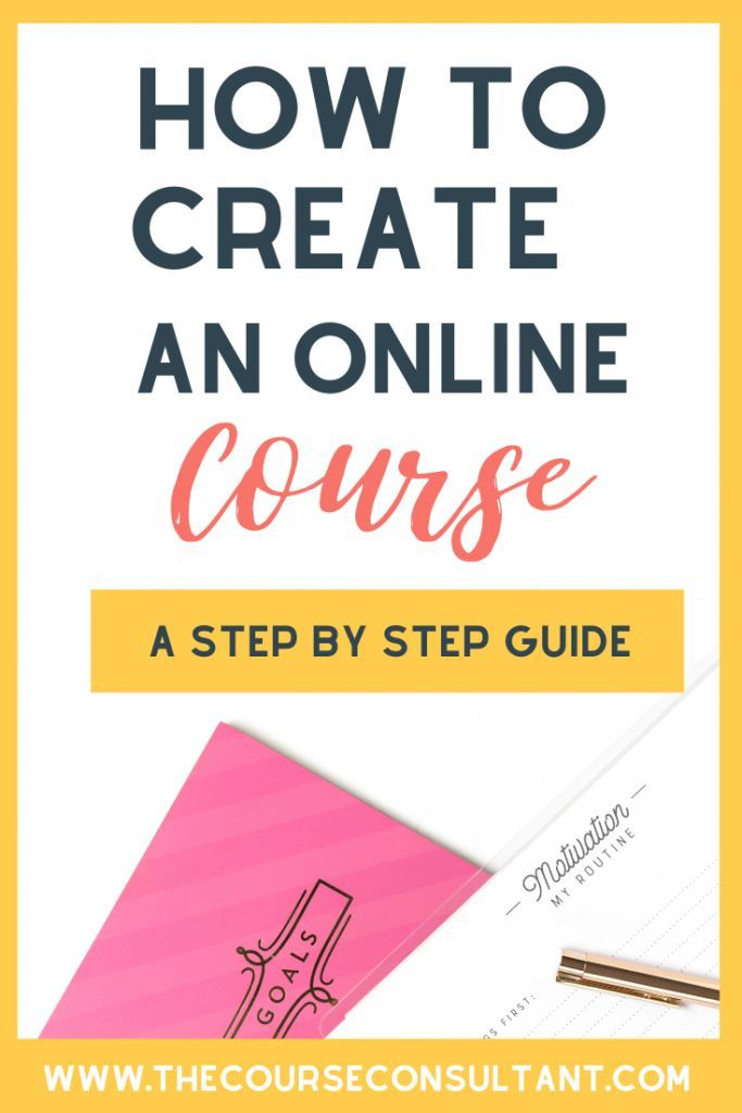 How To Create An Online Course In 2020 The Course Consultant Create Online Courses Online Courses Online Course Creation