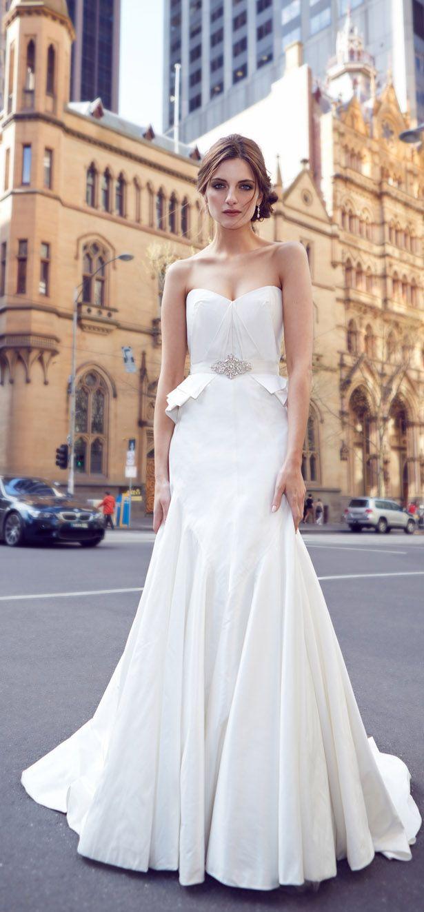 1258 best Wedding Dresses 2014 images on Pinterest   Wedding frocks ...