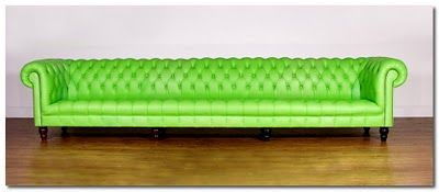 With this chesterfield John and Sherlock can both lie down & contemplate cases. And play footsies. Need to speak to Mrs Hudson about dimensions of the parlour.