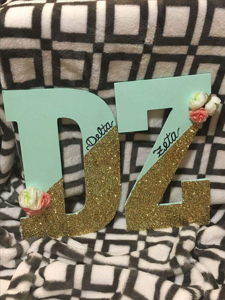 Delta Zeta letters