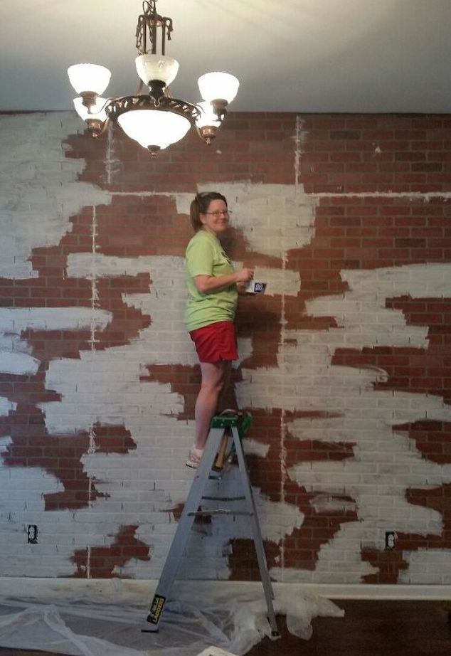 25 best ideas about brick paneling on pinterest brick - Fake brick wall decoration ...