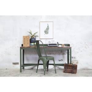 Bureau Iron Writing Groen