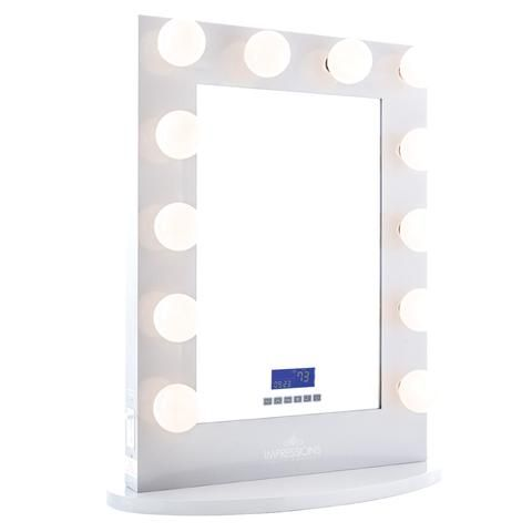 Hollywood Iconic XL BT Vanity Mirror with Bluetooth Speakers