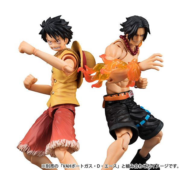 Variable Action Heroes - Luffy - Past Blues Ver. - Portgas D. Ace