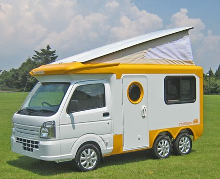 Japanese RVs are as bonkers as they are cute