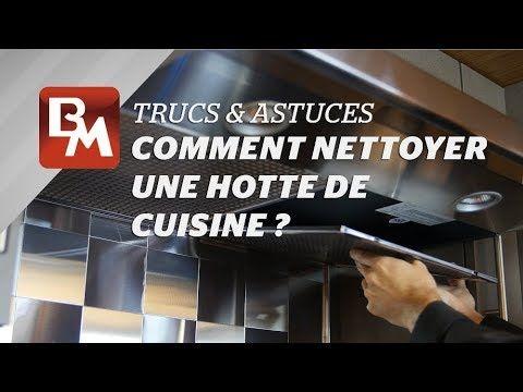 Comment nettoyer une hotte de cuisine ?  #Cuisine #Hotte #Trucs #Astuces #Kitchen #Rangehood #Tips #Astuce