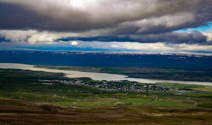 Egilsstaðir is a town in east Iceland on the banks of the Lagarfljót river.