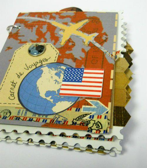 idée scrapbooking carnet de voyage