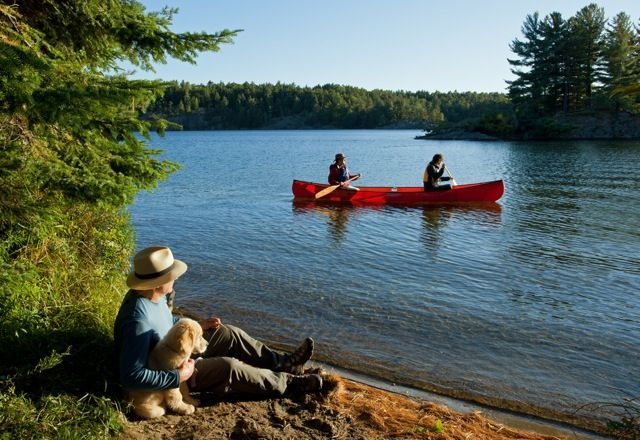 A look at paddling the Georgian Bay basin by coast including the three main areas from where to launch a kayak north of the #FrenchRiver. Give Bear's Den Lodge a call to rent a boat or canoe to go camping or stay in a cottage! Repin from Northeastern Ontario
