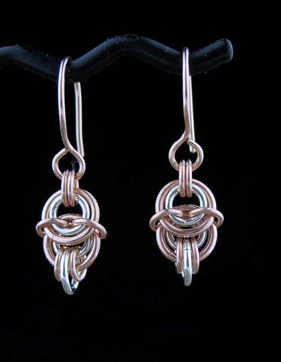 Handcrafted Silver 14k Yellow or Rose by LoneRockJewelry on Etsy, $28.00
