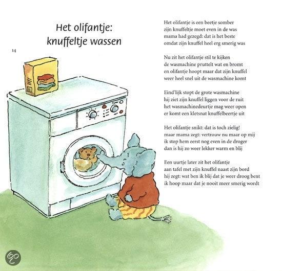 Versje om te lezen en articulatie te oefenen