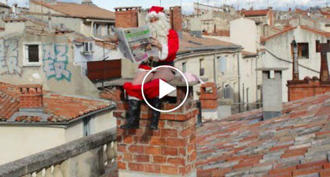 Rémi Gaillard Deseja a Todos Um Feliz Natal, Da Forma Que Só Ele Sabe Fazer