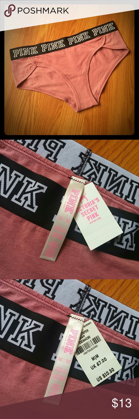 Begonia logo hipsters Brand new with tags.💗 PINK Victoria's Secret Intimates & Sleepwear Panties