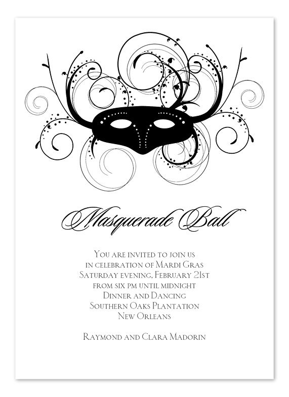 60 best party ideas images on pinterest | masquerade ball, Invitation templates