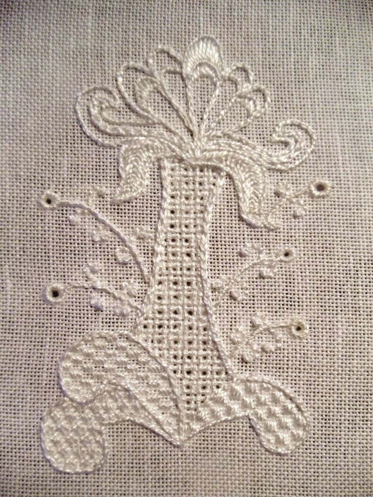 Royal School of Needlework (British) Introduction to Whitework class in San Francisco