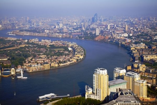 The River Thames: Rivers T-Shirt, Rivers Thame