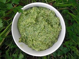 winter parsley pesto