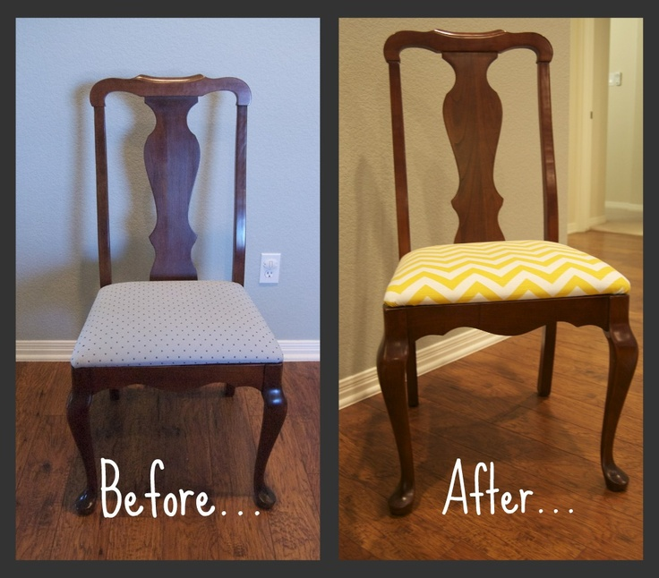 Dining Room Chair Reupholster