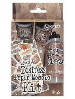 Tim Holtz Distress PAPER MOSAIC KIT TDK47858