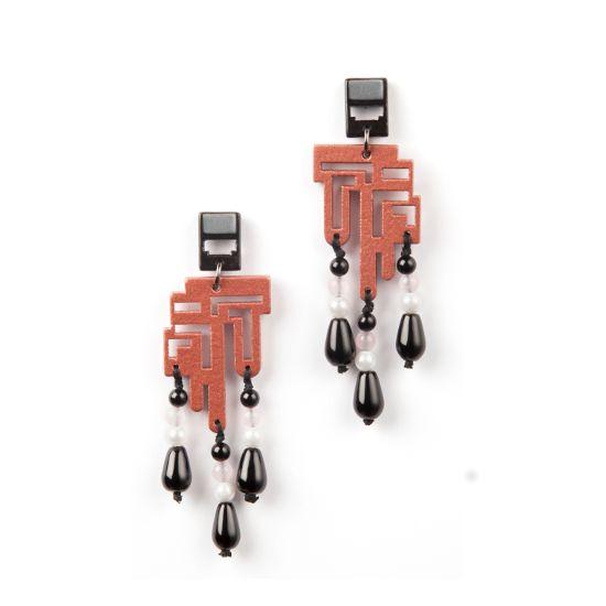 Labirinto Decò earrings