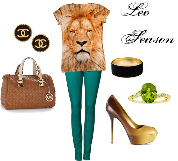 """Leo Season"" by adeptfashionesq on Polyvore"