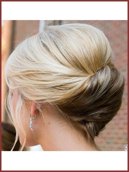French Twist Updo For Wedding Hair So That She Could