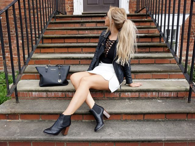 Outfit | Lace Ups & Love Shoeaholics Carvela Boots