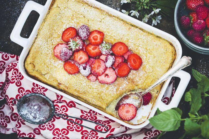 Fat almond pancake