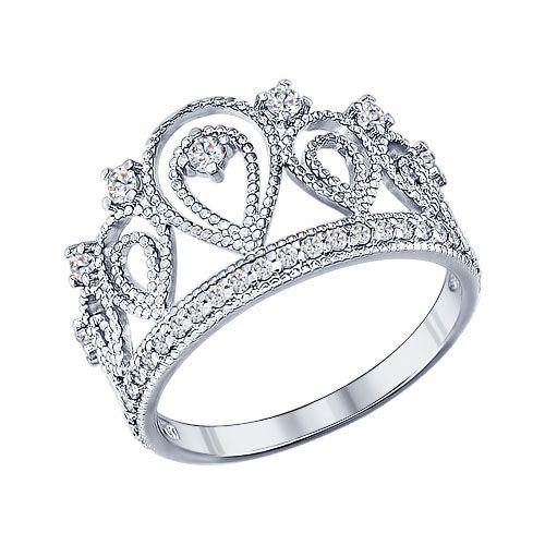 Какая женщина не мечтала в детстве быть королевой или хотя бы принцессой? Мечта может осуществиться благодаря серебряному кольцу-короне. Украшение многое скажет о своей владелице, обратит внимание на её вкус и оригинальность. Такое колечко может стать замечательным подарком для той, которую вы считаете своей королевой.