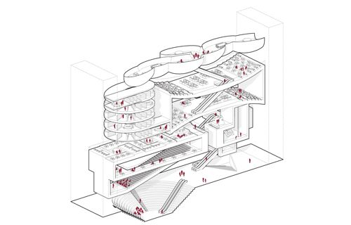 1000 images about axonometric drawings on pinterest for Rex architecture p c