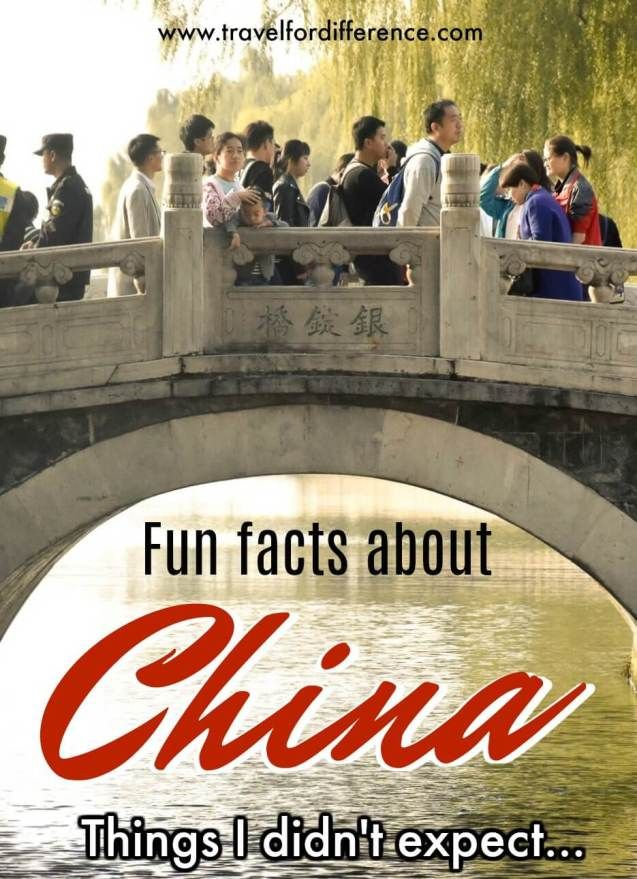 FUN FACTS ABOUT CHINA – THINGS I DIDN'T EXPECT
