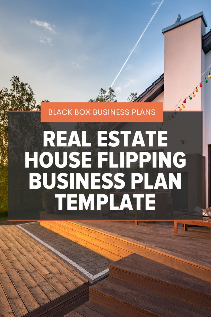 Real Estate House Flipping Business Plan Template In 2021 House Flipping Business Real Estate Houses Flipping Houses House flipping business plan template