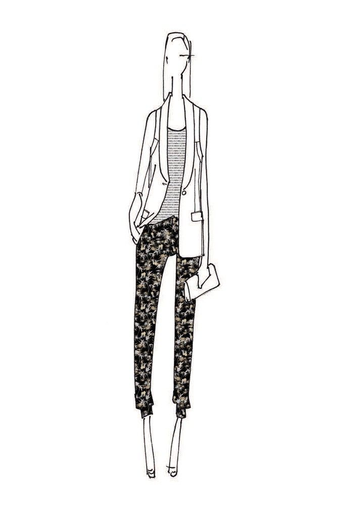 Peter Som look for Kohl's Sketch