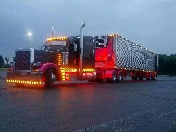 Picture Of Big Rig Headlights : Best images about custom big rigs on pinterest