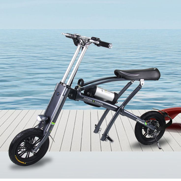 "2017 Newest style 12"" Cheap Electric Folding Bike"