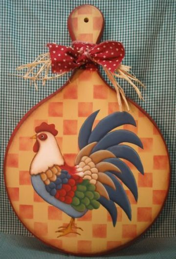 Rooster Plaque ePacket - Susan Kelley - PDF DOWNLOAD
