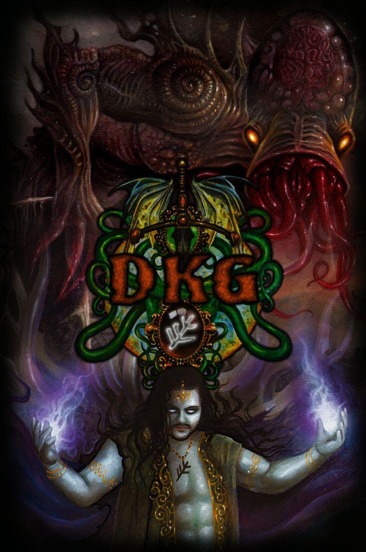 Shirt design games - Dkg Cultist T Shirt Design From Dann Kriss Games With Art By Ian Daniels
