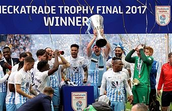 The EPL FA Football League Trophy Final winners - Coventry City.