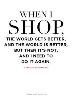 Shopaholic Quotes. QuotesGram